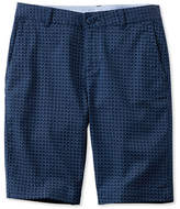 L.L. Bean Washed Chino Bermuda Shorts, Print