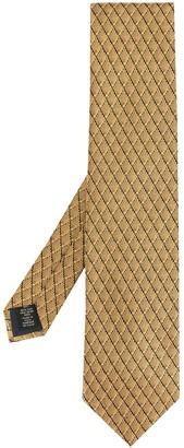Ermenegildo Zegna Fan Patterned Tie