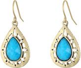The Sak Stone Pierced Drop Earrings