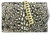 Roberto Cavalli Women's Yellow And Black Large Juno Clutch.