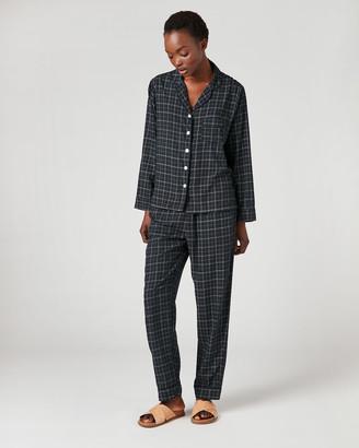 Jigsaw Pin Check Modal Pyjamas