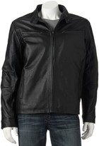 Excelled Men's Excelled Leather Racer Jacket