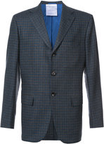 Kiton checked blazer