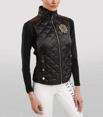 Holland Cooper Equi Diamond Quilted Gilet