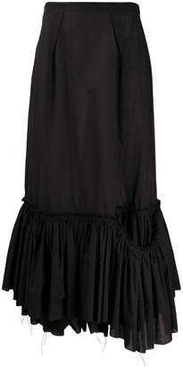 Marni Ruffle Midi Skirt