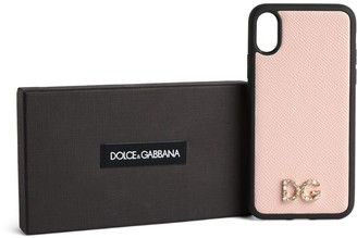 Dolce & Gabbana Leather Iphone X-Xs Case