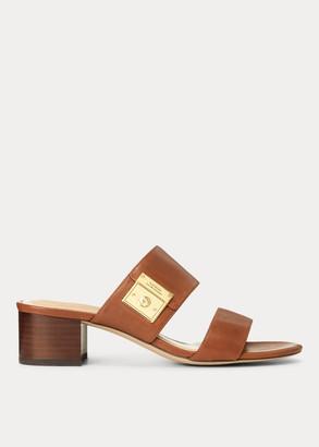 Ralph Lauren Windham Leather Sandal