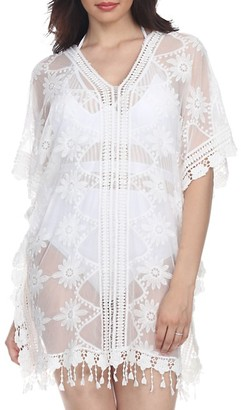 La Moda Clothing Sheer Mesh Coverup