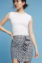 Lili's Closet Ruffled Gingham Mini Skirt