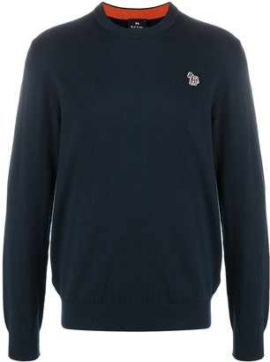 Paul Smith Embroidered Logo Jumper