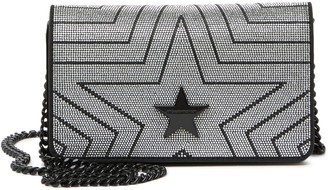 Stella McCartney Metallic Star Shoulder Bag