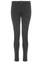 Quiz Black Stretch Skinny High Waist Trousers
