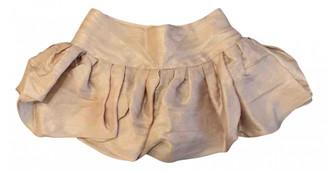 Anne Valerie Hash Pink Silk Skirts