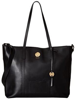 Lodis Laguna RFID Nelly Medium Tote (Black) Tote Handbags