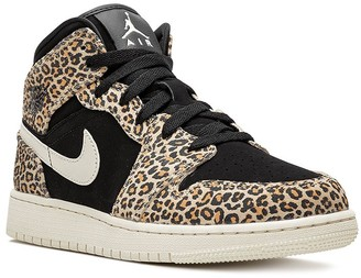 Nike Kids Air Jordan 1 Mid SE (GS) cheetah