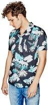 GUESS Tropical Floral Slim-Fit Shirt