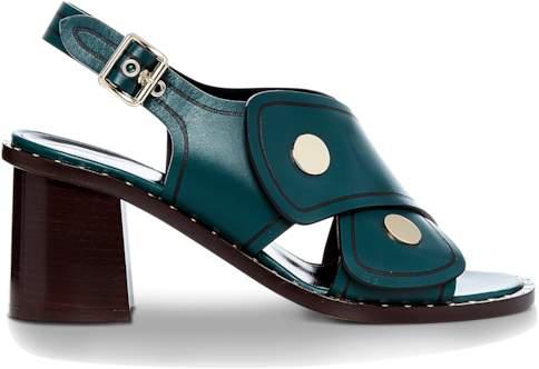 Derek Lam Lagos Calf Block Heel Sandal