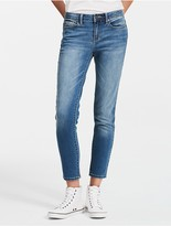 Calvin Klein Ultimate Skinny Mid-Blue Ankle Jeans