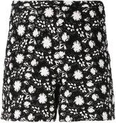 Giambattista Valli embroidered shorts - women - Cotton/Polyester/Polyamide/Silk - 40