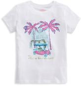Vineyard Vines Little Girl's & Girl's Sparkle Graphic T-Shirt
