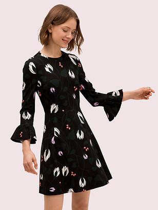 Kate Spade Deco Bloom Ponte Dress