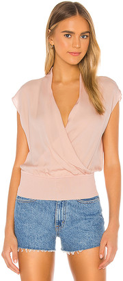 Theory Draped Combo Top