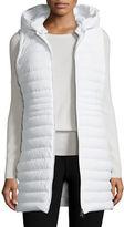 Peuterey Hooded Zip-Front Puffer Vest