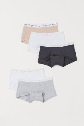 H&M 5-pack Cotton Boxer Briefs - Pink