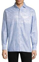 Robert Graham Striped Cotton Casual Button-Down Shirt