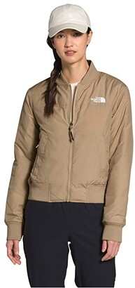 The North Face Du Nord Reversible Jacket (Hawthorne Khaki) Women's Clothing