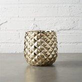CB2 Colada Pineapple Vase-Planter