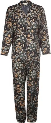Carousel Jewels Green Floral Pyjama Set