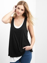 Gap Maternity layered nursing tank