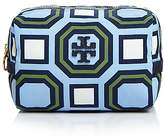 Tory Burch Printed Nylon Medium Cosmetic Pouch