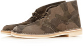 Camo Clarks Original Print Desert Boots