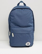 Converse Core Patch Backpack In Blue