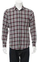 Zegna Sport Plaid Button-Up Shirt