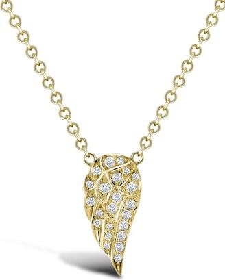 Pragnell 18kt yellow gold brilliant cut diamond Tiara pendant