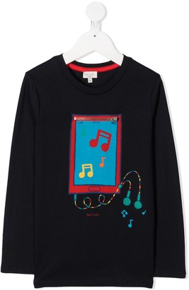 Paul Smith DJ Zebra T-shirt