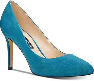 Nine West Dylan Round-Toe Pumps Women Shoes
