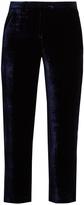Masscob Milna straight-leg velvet trousers