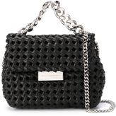 Stella McCartney small Becks weaved shoulder bag - women - Vegetable Fibres/metal - One Size