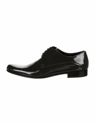 Dolce & Gabbana Patent Leather Oxfords Grey