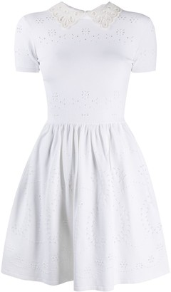Valentino Peter Pan Collar Dress