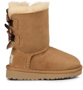 Sole Society Toddlers Bailey Bow suede bow boot
