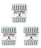 Indigo Wild Zum Bar Goat's Milk Soap Bar, Sea Salt 3 oz (3 pack)