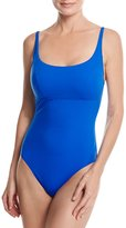 Gottex Au Natural Adjustable Strap One-Piece Swimsuit, Blue