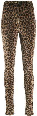 ATTICO leopard print trousers