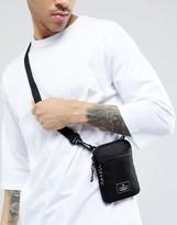 Asos Flight Bag In Black With Mesh