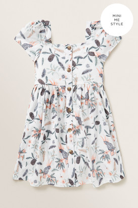 Seed Heritage Linen Button Dress